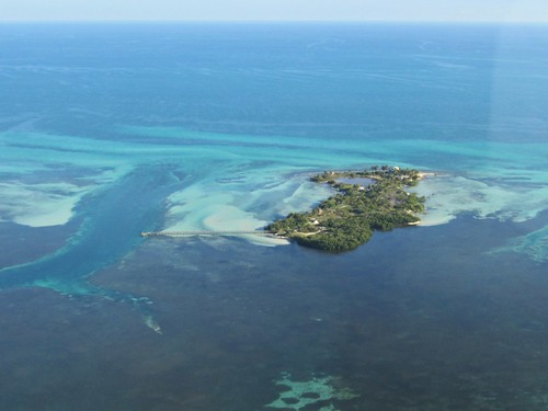 the only private island in the keys