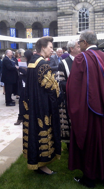 Installation of HRH The Princess Royal as Chancellor of the University of Edinburgh
