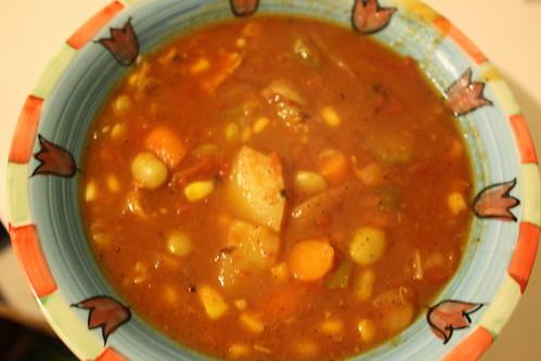 Chicken Veg Soup