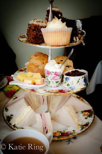 Tea treats tower