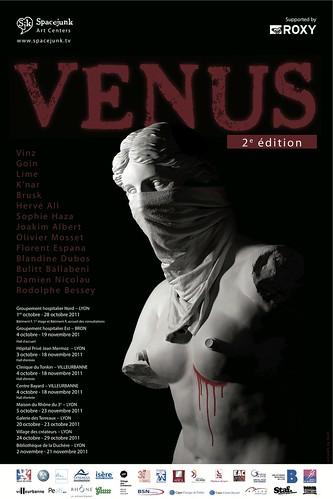 Venus II // Spacejunk galerie // 2011 by Pegasus & Co
