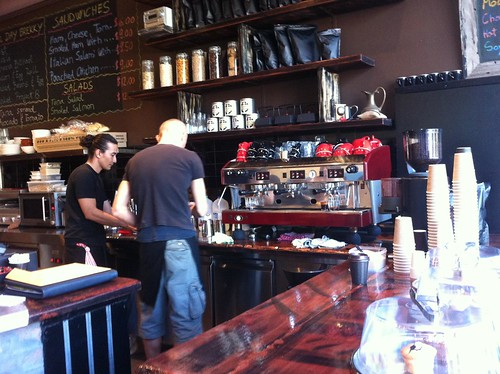 where the magic happens - project 8 cafe, ultimo