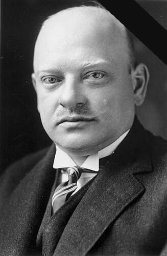 Gustav Stresemann (May 10, 1878 – October 3, 1929)