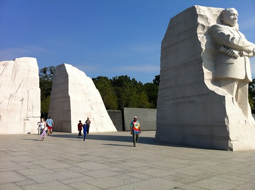 Approaching MLK Memorial by sdk