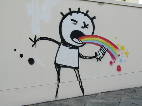 Graffitti near Great Portland Street