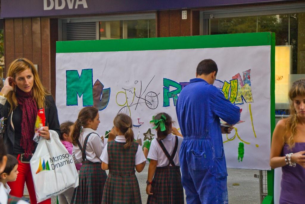 """""""Día sin mi coche"""", Getxo, 2011"""
