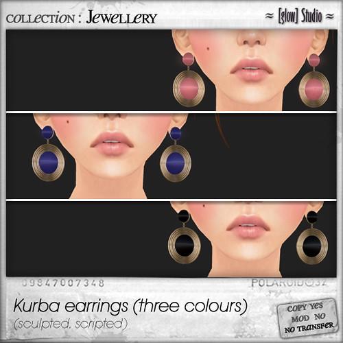 [ glow ] studio - Kurba earrings