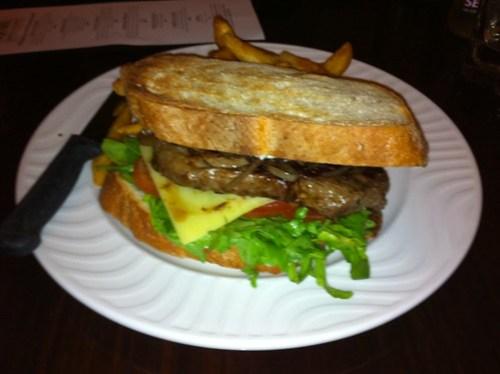 Steak Sandwich at The Generous Squire