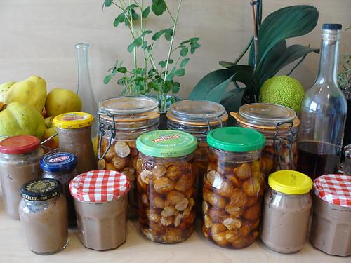 Chestnut galore