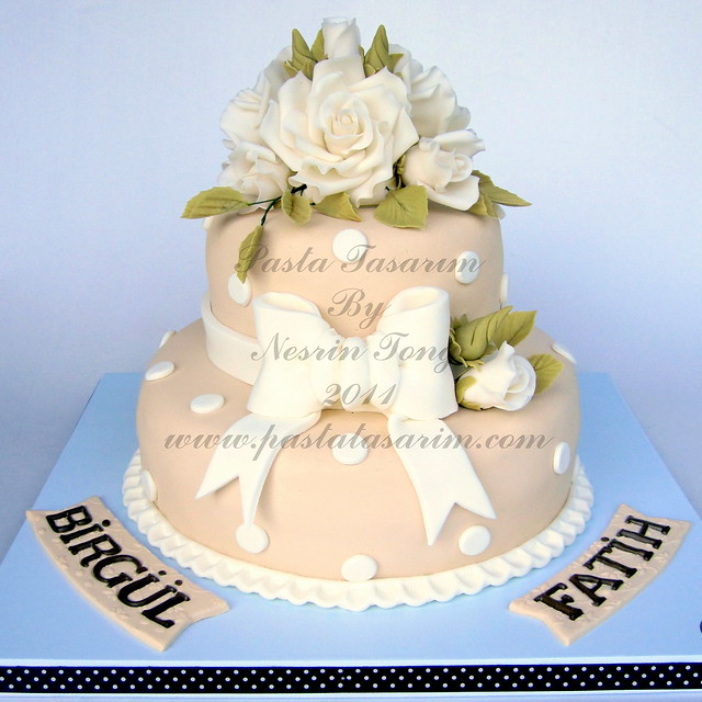 WEDDING CAKE - BIRGUL & FATIH