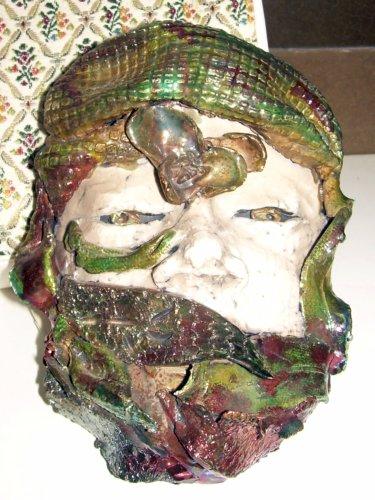 Bizarro mask/face/something