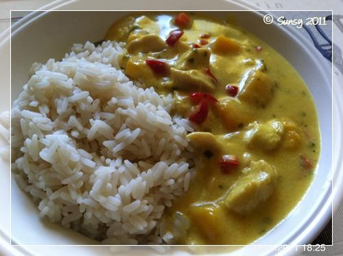 currysahnehuhn