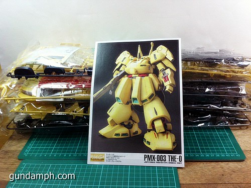 MG The-O PMX-003 Review OOB Build (9)