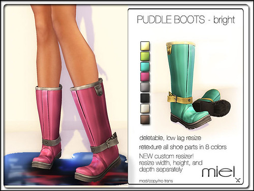 Puddle Boots by Miel @ The Deck