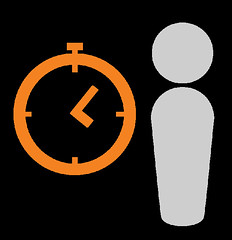 illustration_people-time-clock by andrea-prieto