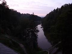 Jezioro Modre po zachodzie słońca by Polek