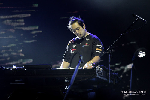 Linkin Park at 2011 F1 Singapore Grand Prix (3/6)