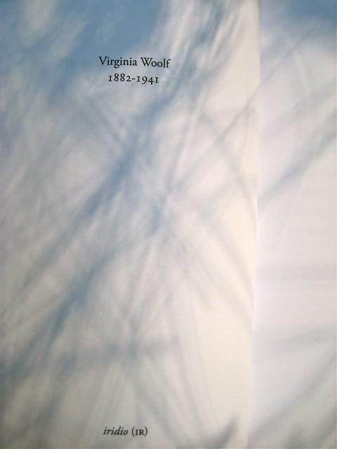 Virginia Woolf, Sono una snob?. Piano B edizioni 2011. [resp. grafiche non indicate]. p. dell'occhiello -verso (part.), 1