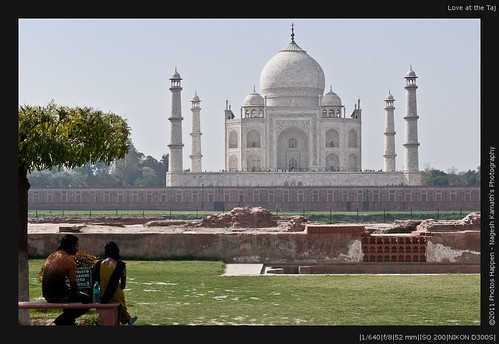 Love at the Taj
