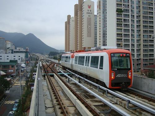 Busan Gimhae Light Rail by Jens-Olaf