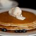 Blueberry ricotta pancakes with mascarpone honey butter 1