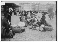 Refugees, Gare de Lyon, Paris (LOC)