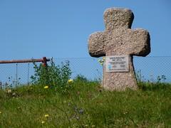 Krzyż pokutny we wsi Pogorzała by Polek