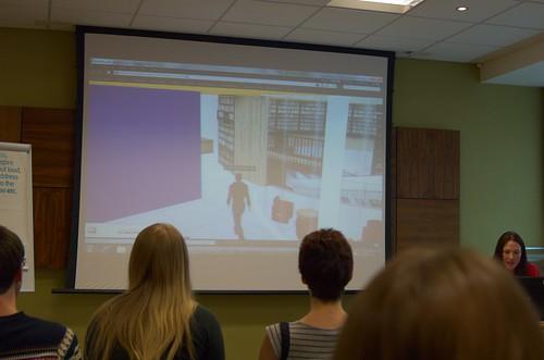 Virtual tour of Birmingham Library