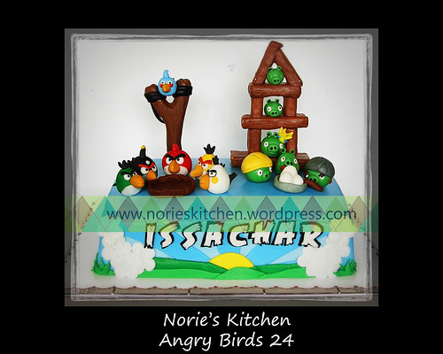 Norie's Kitchen - Angry Birds Cake 24 by Norie's Kitchen