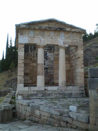 Treasury of Athens - Delphi