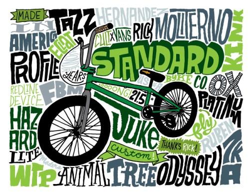 Chris Piascik Standard BMX