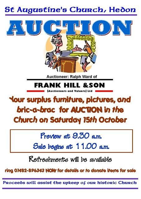 AUCTION: St Augustine's Church
