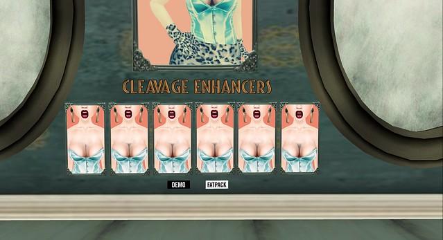 Cheap Makeup-Cleavage Enhancers!