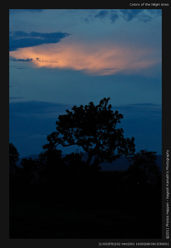 Colors of the Nilgiri skies