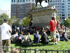 Occupy DC in McPherson Square