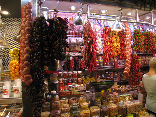 La Boqueria Peppers