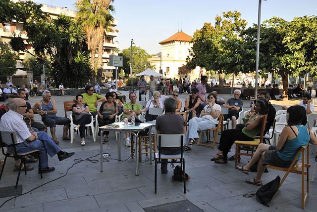 """Xerrada """"Pacte de l'Euro i Grècia a l'actualitat"""" per Cristina Mas"""