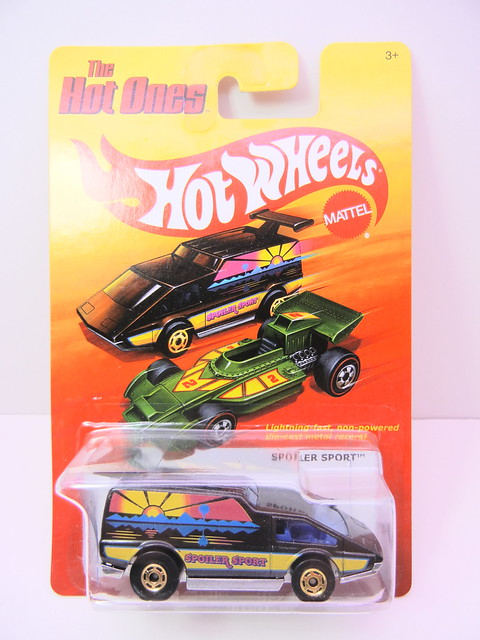 hot wheels hot ones spoiler sport