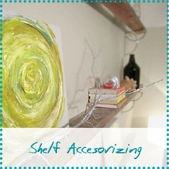shelf accesorizing