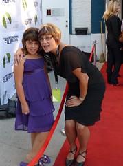 Signe Olynyk (R) and Sadie Madu