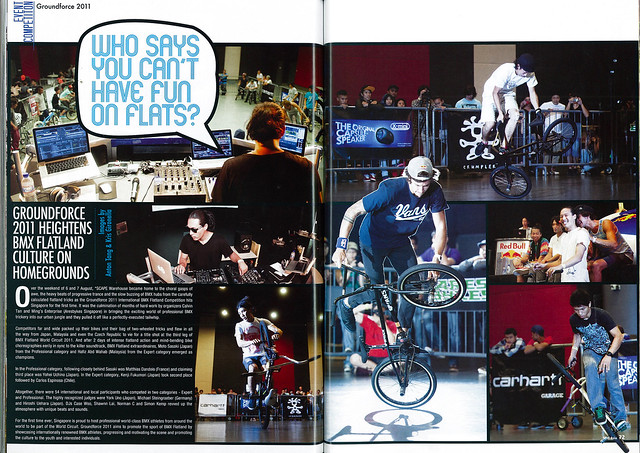 Spin Asia Magazine #20 - Groundforce 2011