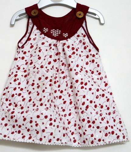 Sew - Cherry Print Dress