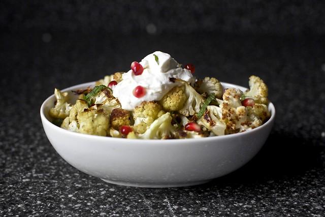 cumin seed roasted cauliflower