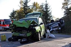 Zusammenstoß B260 Ramschied 21.10.2011
