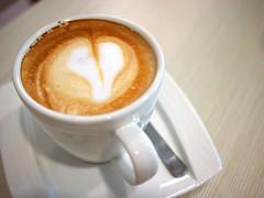 Latte, 93 degreesC coffee