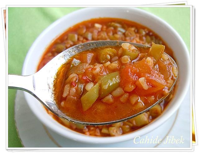 fasulyeli çorba