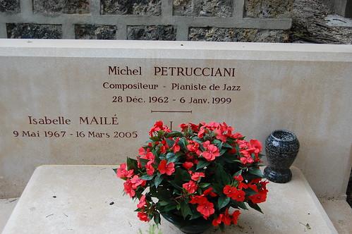 Michel Petrucciani's, Père Lachaise Cemetery, Paris