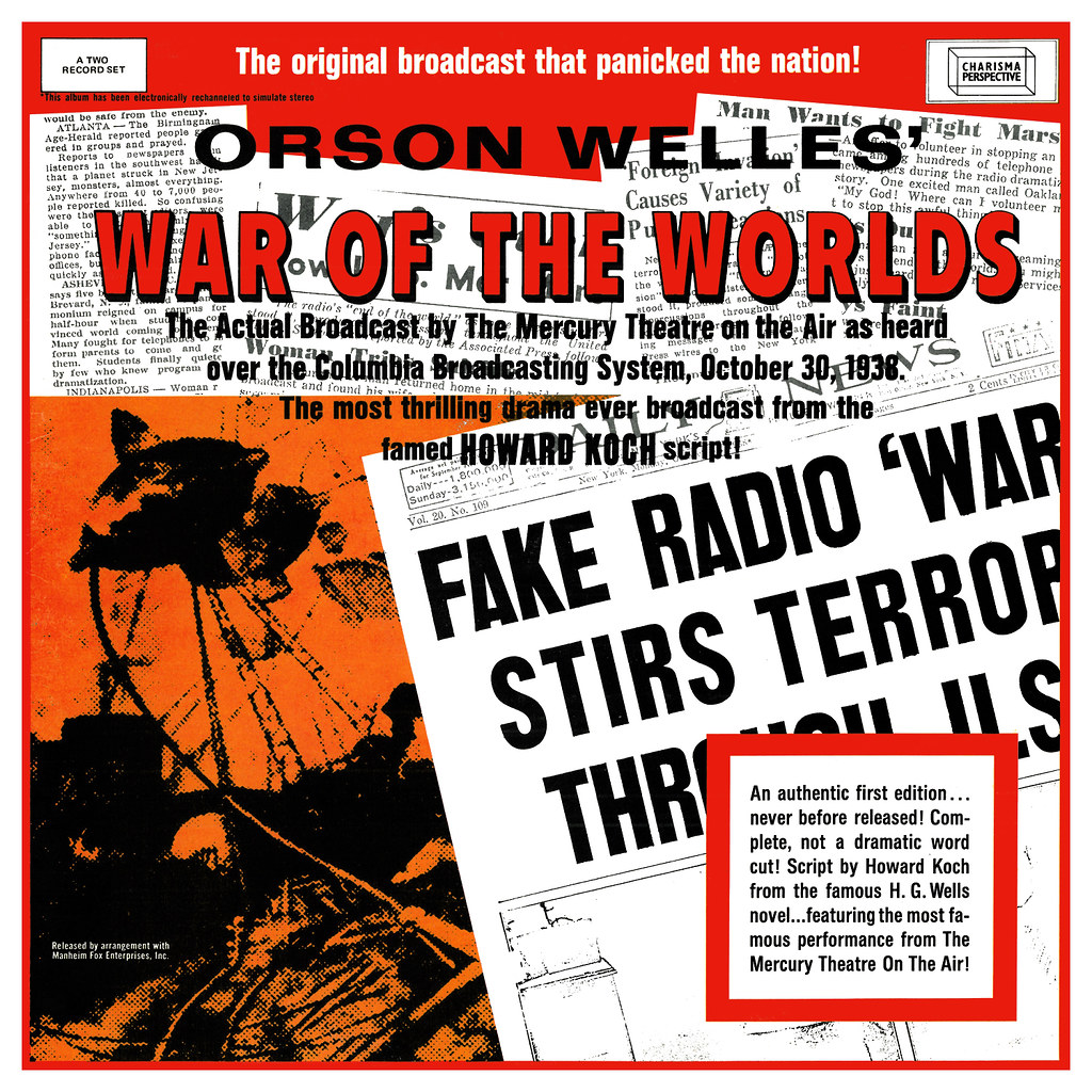 Orson Welles - The War of the Worlds