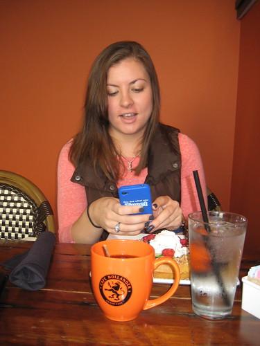 Jessica at Cafe Hollander