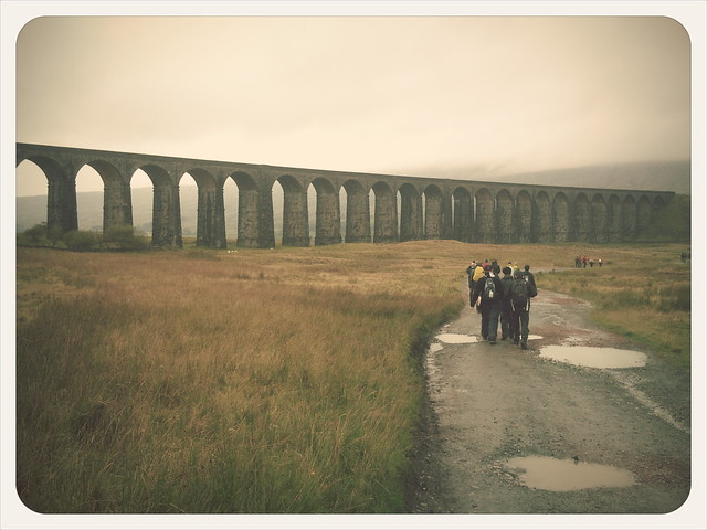 Ribblehead rush hour (Saturday lunchtime)